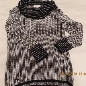 Calvin Klein Cowl Neck Sz M Knitted Top